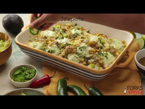 Vegan Nachos Verdes | Forks Over Knives