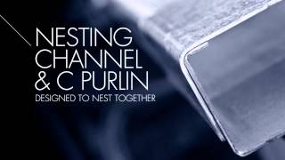 Textor Metal Industries - Nesting Channel / C Purlin
