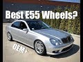 What is my E55 wheel setup? + Wheel Recommendations (4K)