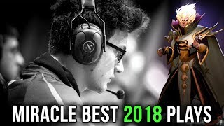 Miracle- MVP for Team Liquid in 2018 - Best Plays Dota 2