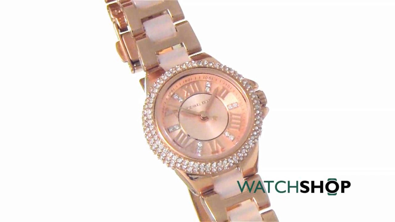 784a03a81232 Michael Kors Ladies  Camille Watch (MK4292) - YouTube