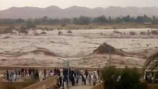 ارتفاع منسوب مياه وادي مزي بالأغواط وتحذيرات من سقوط ضحايا