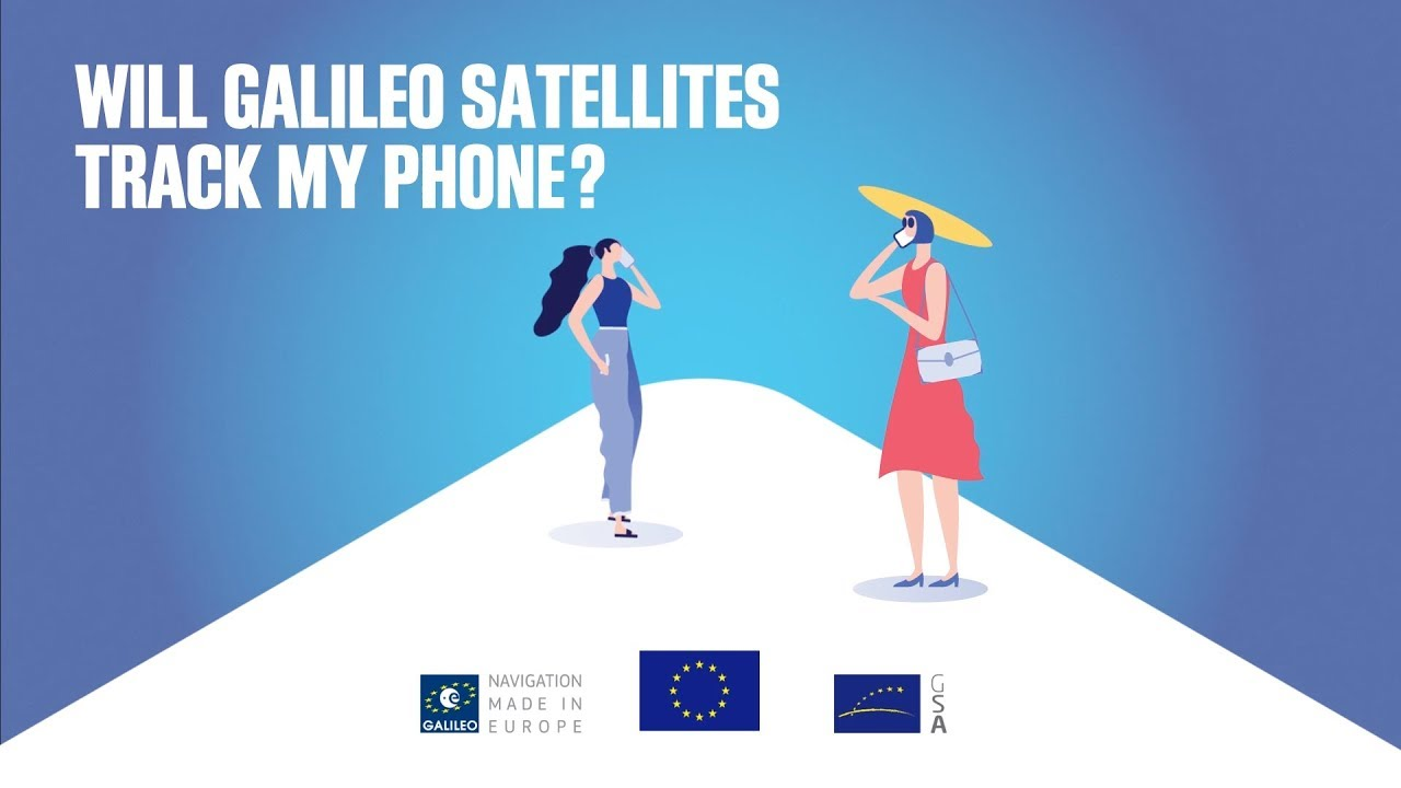 Will Galileo satellites track my phone? | European Global Navigation