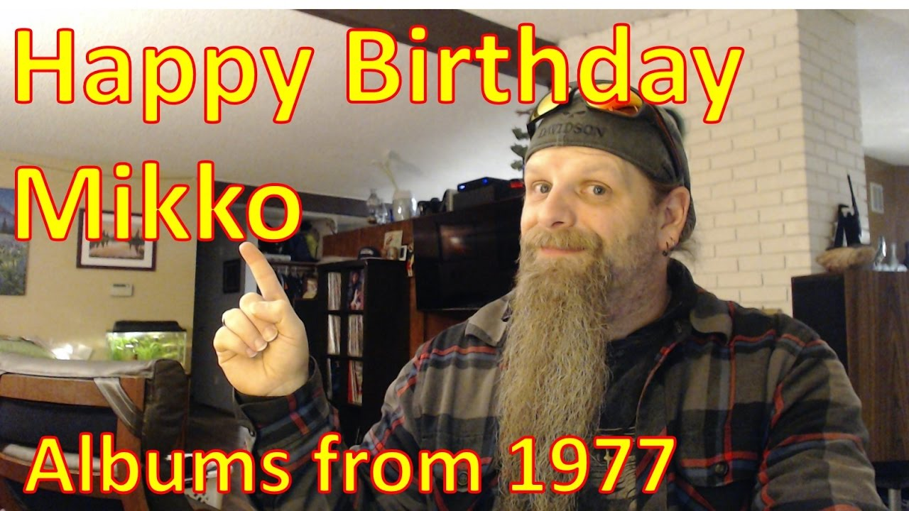The Vinyl Corner - Mikko's 40th Birthday Contest,