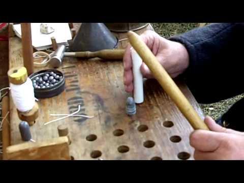 Civil War Ammunition- Minié Ball Cartridge Rolling and Trivia