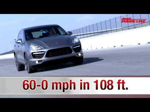 2011 Porsche Cayenne Turbo | Track Tested | Edmunds.com
