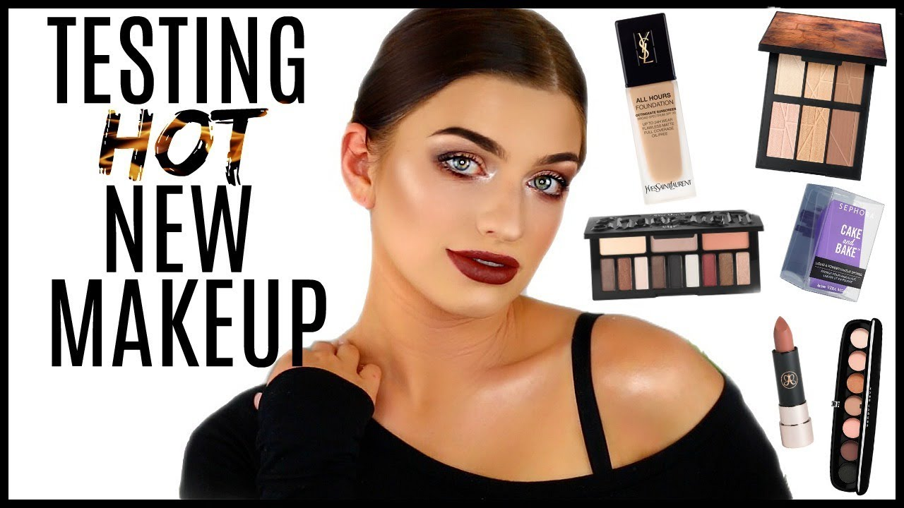 TESTING HOT NEW MAKEUP! | First Impressions