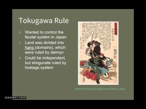 AP World History: Period 4: Tokugawa Shogunate