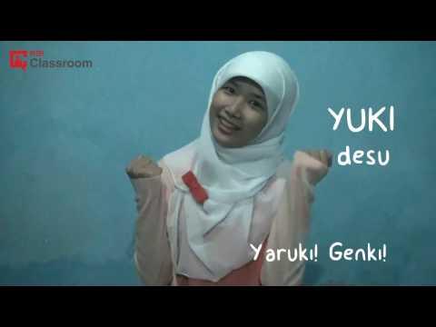 Belajar Bahasa Jepang bersama YUKI San (Part 1 NANI)