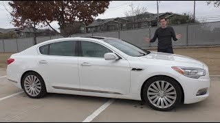 The Kia K900 Is an Unknown $60,000 Luxury Sedan
