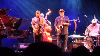 Joe Lovano & Chris Potter SAX SUPREME (2) @ Jazz Middelheim Antwerpen 14 augustus 2015