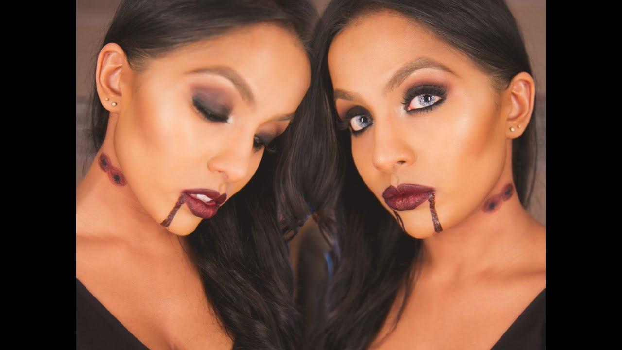 Sexy Vampire Look Halloween Makeup YouTube