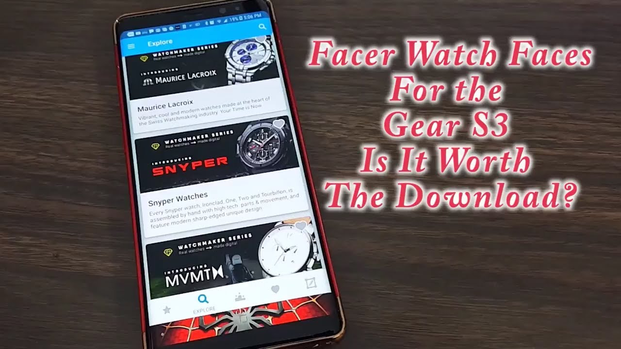 Facer Watch Faces For The Gear S2/S3 Is It Worth The Download?