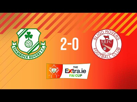 Extra.ie FAI Cup Semi Final: Shamrock Rovers 2-0 Sligo Rovers