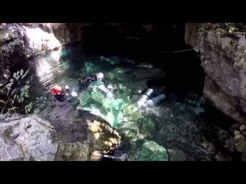 8 days of Diving Adventure - Cave Diving Training  - Underwater Camera