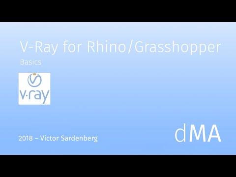 V-Ray 3.6 For Rhino 6 Basics - 4 Styles (english)