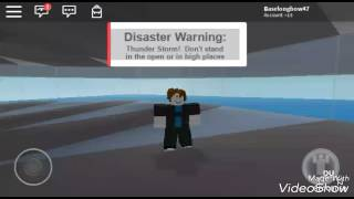 "Roblox natural disasters "" Really?"""