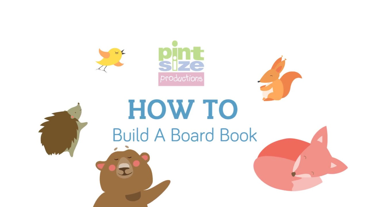 how to make a personalized board book pint size productions youtube
