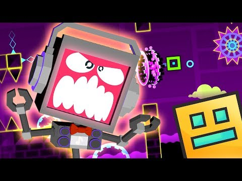 RAGE DROID! GEOMETRY DASH 3 ► Fandroid the Musical Robot!