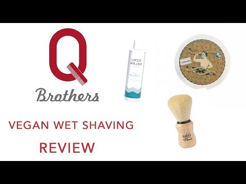 Q Brothers Review Vegan Wet Shaving