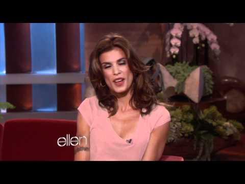 Elisabetta Chats with Ellen
