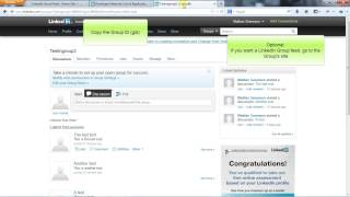 LinkedIn social feed tutorial
