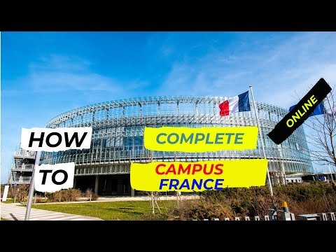 #campusfrance-#onlineform-#studyinfrance-#mastersinfrance-how-to-fill-campus-france-form-online