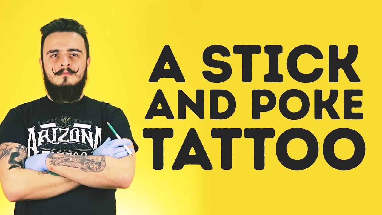 How to do a stick and poke tattoo l 5-MINUTE CRAFTS