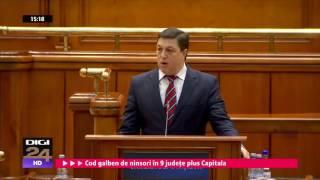 Decizia CCR de respingere a sesizărilor legate de OUG, aplaudată în Parlament