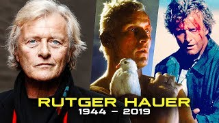 RIP Rutger Hauer - A Tribute