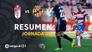 Resumen de Granada CF vs Nàstic (2-0)