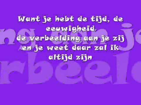 3Js - Je vecht nooit alleen Songtekst / lyrics on screen Eurovision song contest