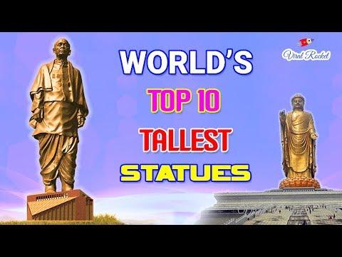 Worlds Top 10 Tallest Statues  Top 10 Tallest Statues in the World  Biggest Statues in the World