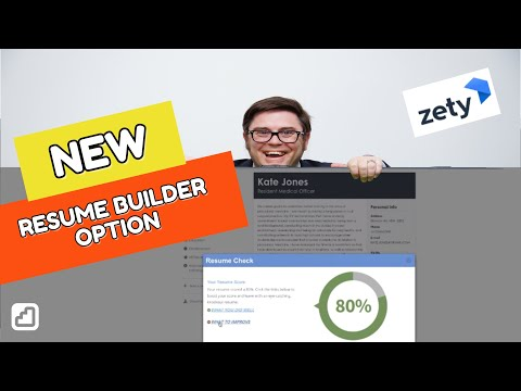 Zety Resume Builder Review Thoughts On New Version Youtube