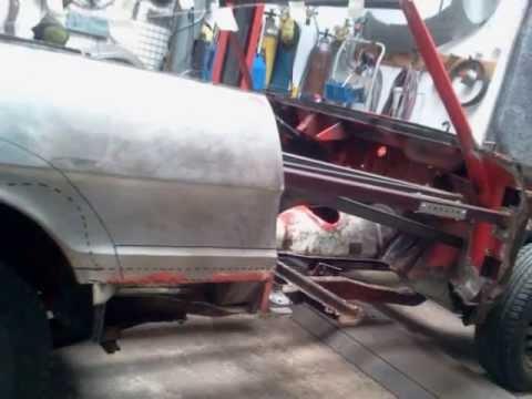 Alfa Romeo Spider Car Body Repair YouTube - Alfa romeo body panels