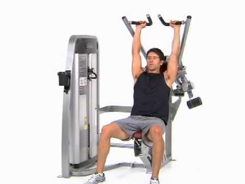 Shoulder Press Machine Bilateral Machi...