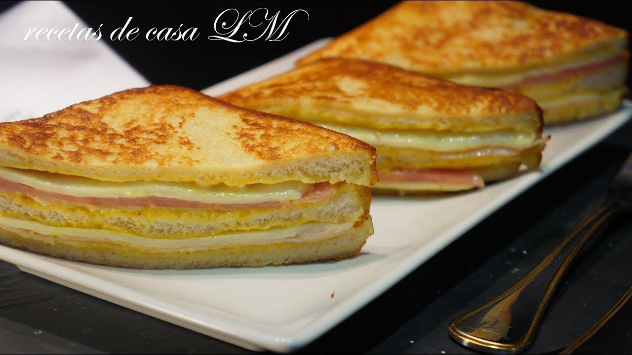 Sandwich Montecristo Receta Original Muy Fácil