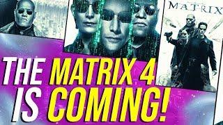The Matrix 4 Is COMING! (Keanu, Carrie-Anne Moss, Lana Wachowski!)