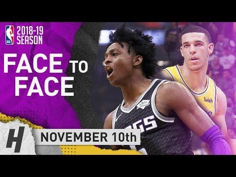 De'Aaron Fox DESTROYS Lonzo Ball! Full Duel Highlights Lakers vs Kings 2018.11.10 - 21 Pts for Fox