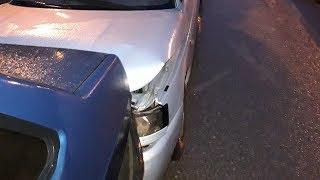 В Красноармейском районе столкнулись 9 автомобилей