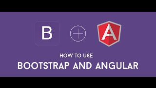how to install angularjs with bootstrap