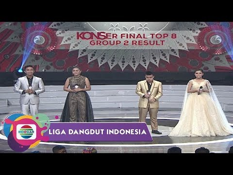 Highlight Liga Dangdut Indonesia - Konser Final Top 8 Group 2 Result