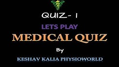 Medical Quiz Competition by Dr. Varun Kalia (PT)