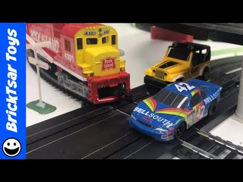 Awesome! Tyco Road and Rail Slot Car and Train Set from 1977