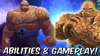 The Thing Rank Up, Abilities & Gameplay! - Fantastic Four #1 - Marvel Contest Of Champions