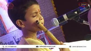 Master Anirban Roy | Flute Player | Vasantotsav 2018 | Ajvasan