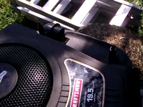 How to repair a Briggs and Stratton 19.5HP eng that locked up.