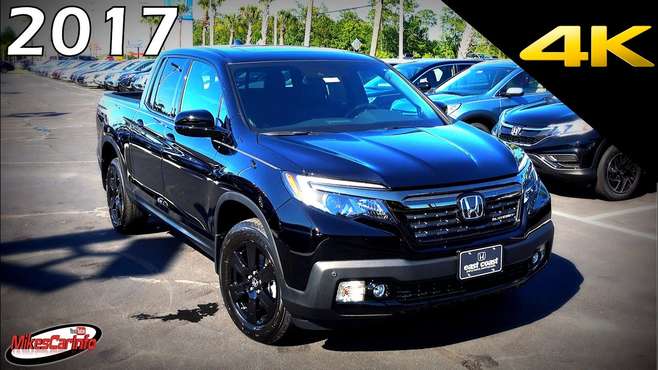 2017 Honda Ridgeline Black Edition - Ultimate In-Depth ...