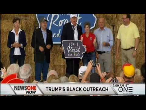 Rowland Martin- NAACP Wendell Anthony On Trump Black Outreach