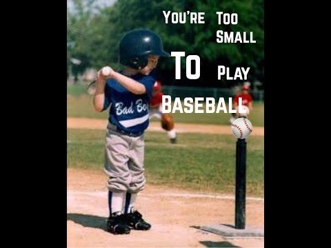 Winter vacation homework (You're Too Small To play Baseball ⚾️)